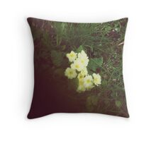 And it was all yellow.... Throw Pillow