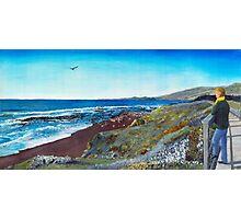 Moonstone Beach Photographic Print