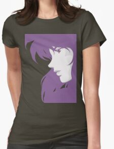 Ghost in the Shell - Major Motoko Kusanagi - PURPLE - (RENDER) Womens Fitted T-Shirt