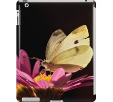 Cabbage Moth (Pieris rapae) iPad Case/Skin