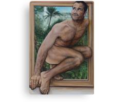 Leaving Paradise  acrylic on canvas  Canvas Print