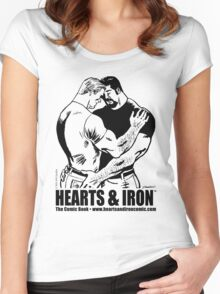 Hearts & Iron™ Hug shirt Women's Fitted Scoop T-Shirt