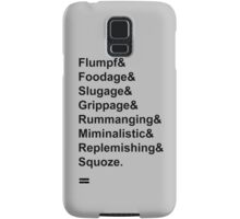 Karl Pilkington Vocabulary Case Samsung Galaxy Case/Skin