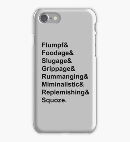 Karl Pilkington Vocabulary Case iPhone Case/Skin