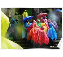 Colors Through the Rain Poster