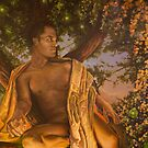 sunset,  acrylic on canvas  36x24 inches  by Thomas Acevedo
