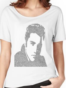 """Elvis """"The King"""" Presley Women's Relaxed Fit T-Shirt"""