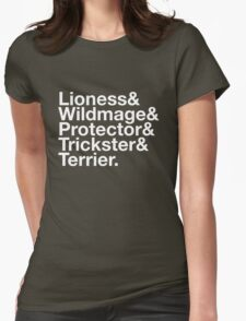 Tortall heroines: Titles T-Shirt