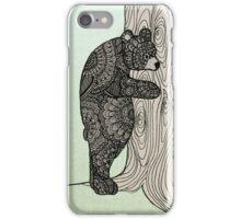 Bear Hug - Tree Hugger iPhone Case/Skin