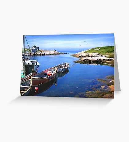 PEGGY'S COVE Greeting Card