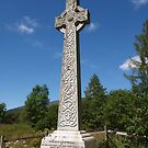 Cross at Glencoe by kalaryder