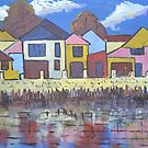 Gobba Lake Houses by David Hinchliffe