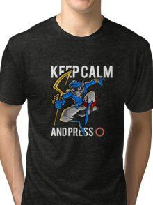 Sly Cooper - keep calm Tri-blend T-Shirt