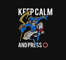 Sly Cooper - keep calm Womens Fitted T-Shirt