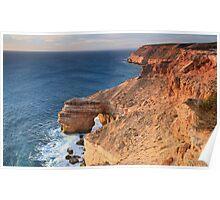 Natural Bridge, Kalbarri, Western Australia Poster