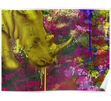 Urban Rhinoceros  Poster