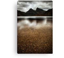 Mood of a Mountain Canvas Print