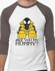 Dr. Who sphinx are you my mummy? Men's Baseball ¾ T-Shirt