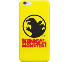 KING OF THE MONSTERS iPhone Case/Skin