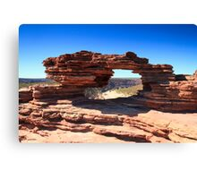 Natures Window Canvas Print