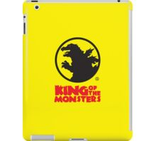 KING OF THE MONSTERS iPad Case/Skin