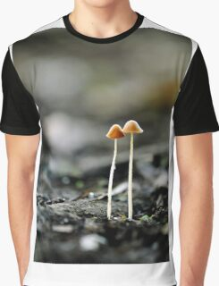 mushrooms in the dark Graphic T-Shirt