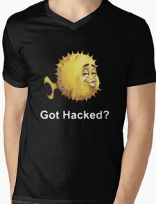 Got Hacked? Mens V-Neck T-Shirt