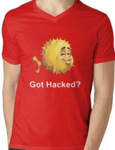 Got Hacked? Mens V-Neck T-Shirt