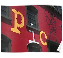 Picca Facade Poster