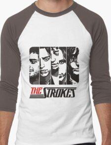 The Strokes Band Music T-Shirt Men's Baseball ¾ T-Shirt