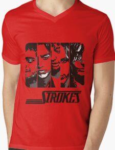 The Strokes Band Music T-Shirt Mens V-Neck T-Shirt