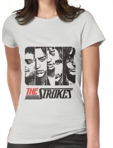 The Strokes Band Music T-Shirt Womens Fitted T-Shirt