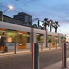 Tram in motion by nicomelbourne