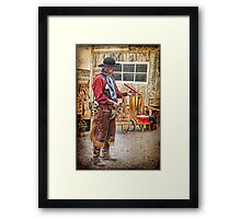 Absent Minded Folly  Framed Print