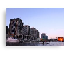 Sunset at Docklands Canvas Print