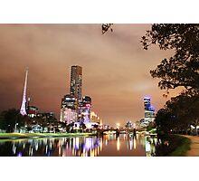 Southbank at night Photographic Print