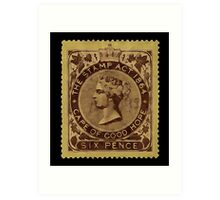 Stamp Act 1864 - 019 Art Print