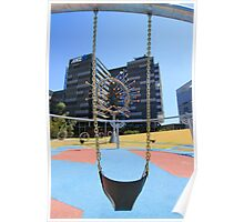 Swing at the Docklands Poster