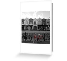 Black & White versus Colour Greeting Card