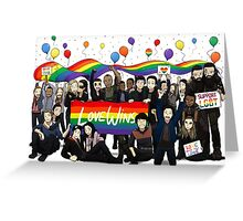Love Wins the100 Greeting Card
