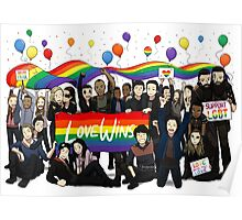Love Wins the100 Poster