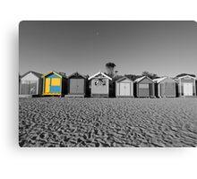 Black & White versus Colour Canvas Print