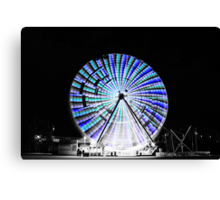 Black & White versus Colour Canvas Print