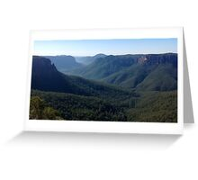 Anvil Rock Lookout, Blackheath Greeting Card