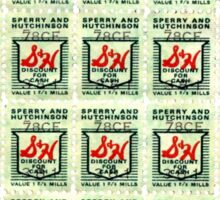 S&H GREEN STAMPS Sticker