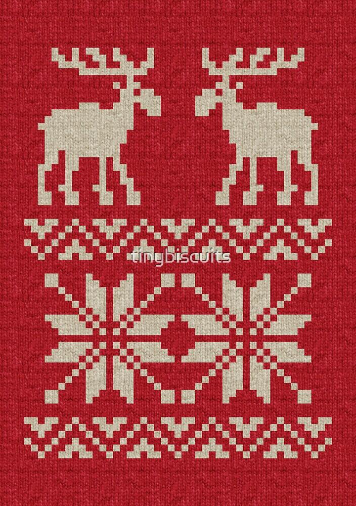 Ugly Christmas Jumper Knitting Pattern :