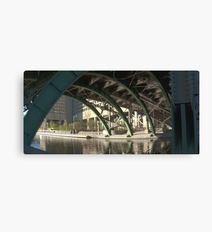 Bridge over the Colonel By Canal Canvas Print