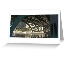 Bridge over the Colonel By Canal Greeting Card