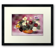 Hope Your Birthday is Extra Special Framed Print