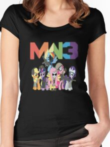 MW3 Ponies Women's Fitted Scoop T-Shirt